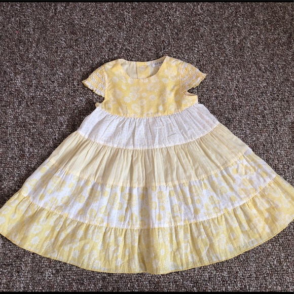 George Other - George Girls 3T Toddler Yellow Dress